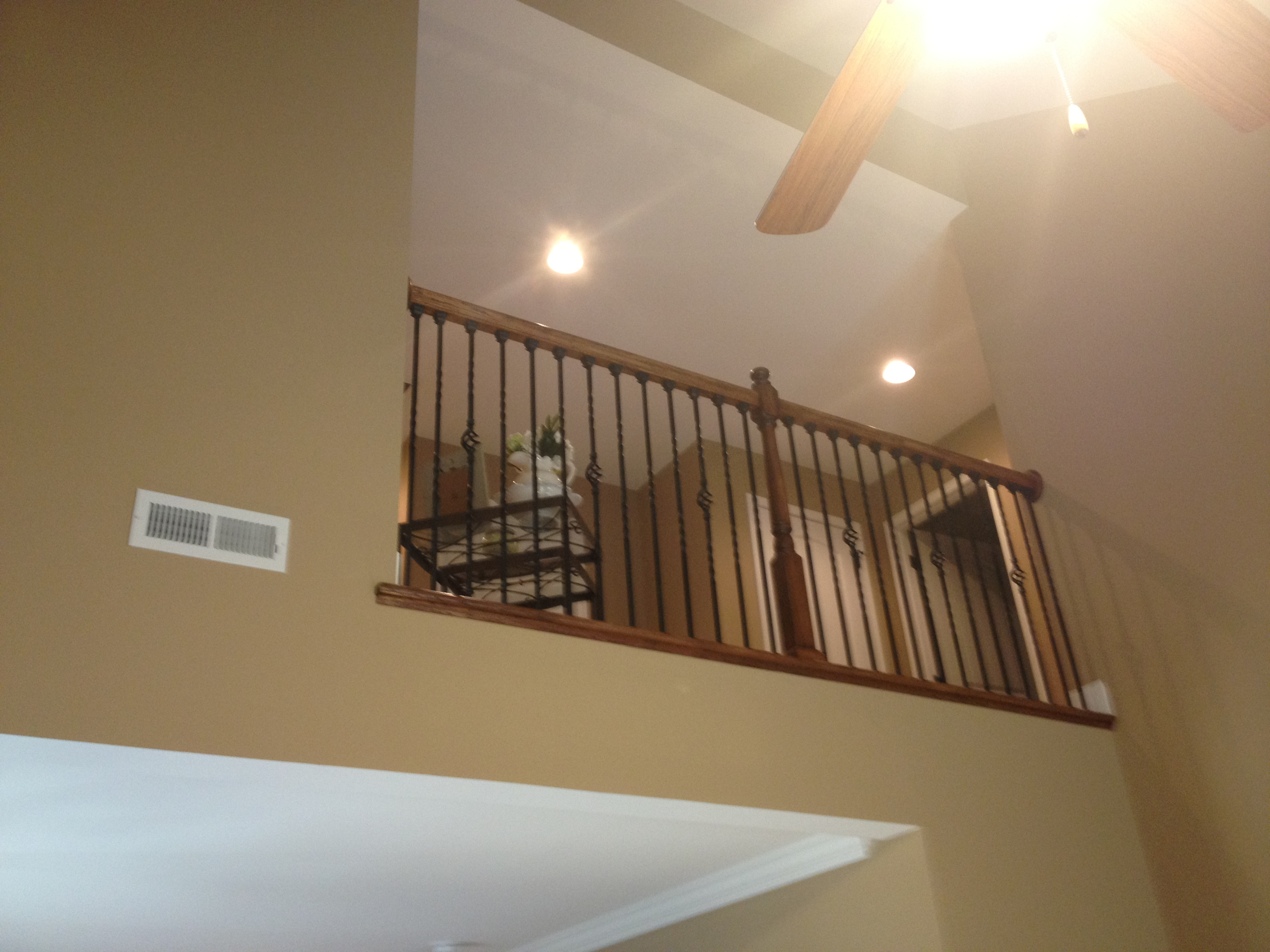 Upstairs-Banister